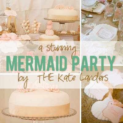 Mermaid Party by THE Kate Landers!