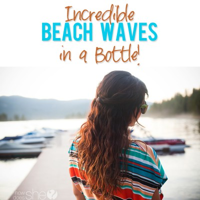 Beach Waves in a Bottle