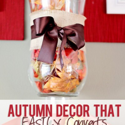Autumn Decor That EASILY Converts!