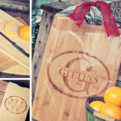 Wanna play a game?  Free Personalized Cutting Boards!
