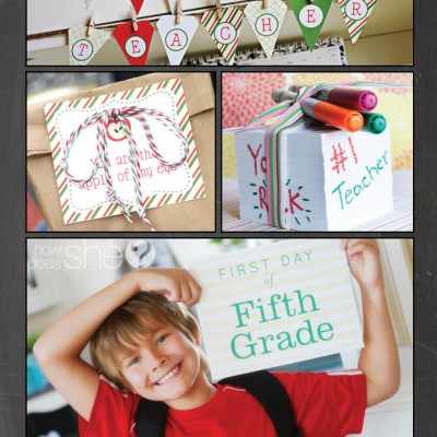 Over 30 Ideas for Back to School!