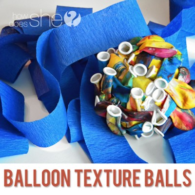Birthday Balloon Texture Ball