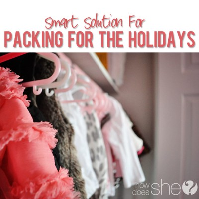 Packing for the Holidays