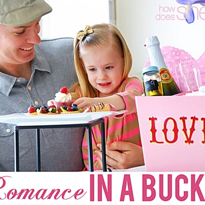 Romance in a Bucket:  Give a Bucket of Healthy Living on Valentine's Day.