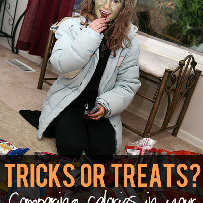 Which Candy is a TRICK? Which one is a TREAT?
