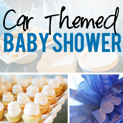 Beep Beep! Car Themed Baby Shower – Real Party