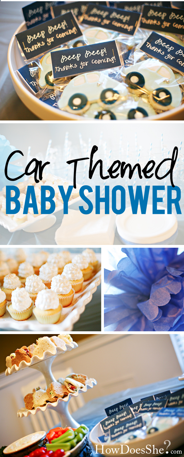 Baby Boy Room Cars: Beep Beep! Car Themed Baby Shower - Real Party