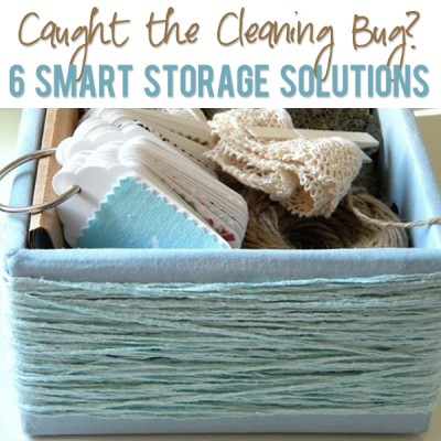 Caught the Cleaning Bug? 6 Smart Storage Solutions