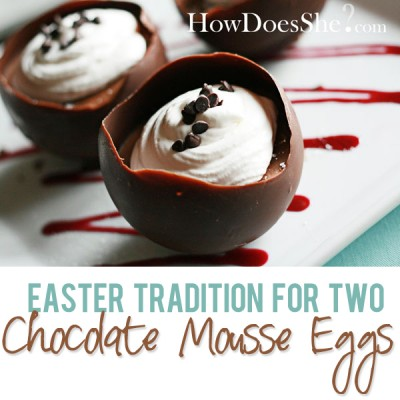 Chocolate Mousse Easter Egg – Crowd Pleaser!
