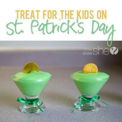 Fun St. Patricks Day Treat for Kids (Treasure Inside!)