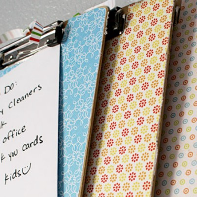 Clip Board Tutorial Make it cute!