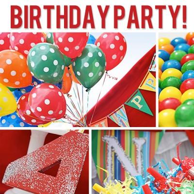 Clown Themed Birthday Party!