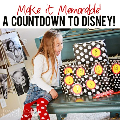 DISNEY – Countdown to Disney!