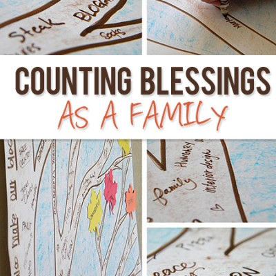 Counting Blessings as a Family
