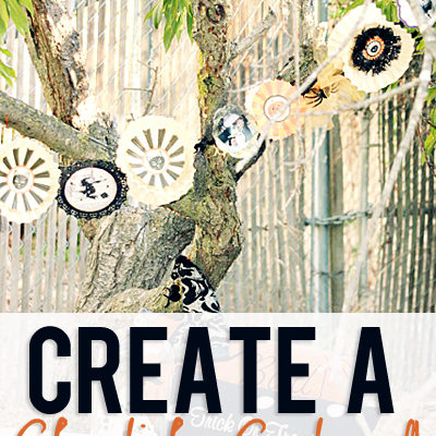 Create a Ghoulish Garland!