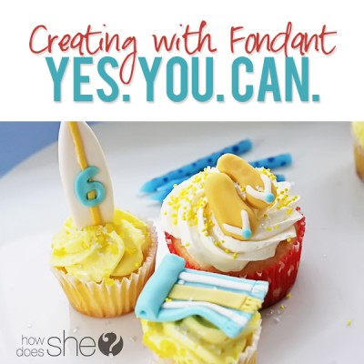 Creating with Fondant – Yes. You. Can.