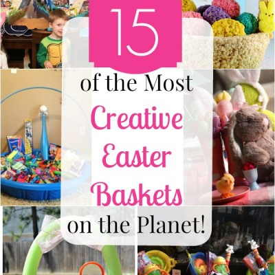 15 of the Most Creative Easter Baskets on the Planet