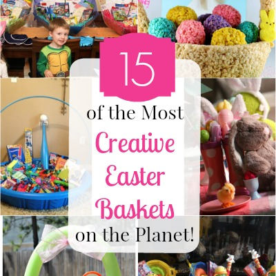 Creative Easter baskets featured