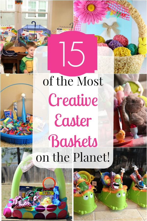Creative Easter baskets