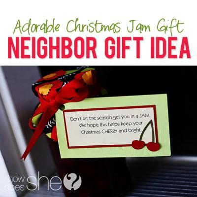 #37 Neighbor Christmas Idea – Cherries!