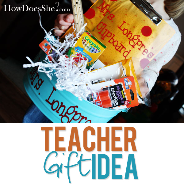 Kindergarten teacher gift ideas christmas