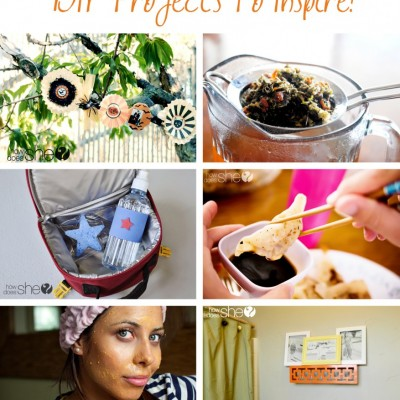 Delighted About DIY! 6 Ideas to Inspire You