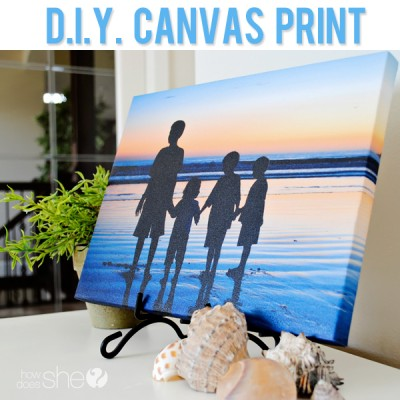 DIY Canvas Prints