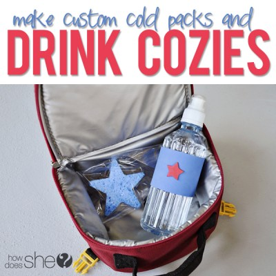 Deck Out Your Drinks With Custom Ice Packs and Koozies