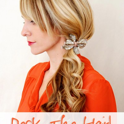 Deck The Hair-Simple Holiday Hair