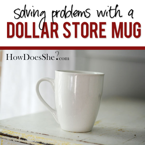 Dollar Store Mug