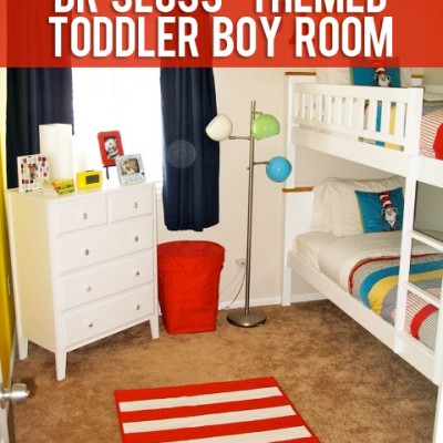Toddler Boy Room – Dr. Seuss
