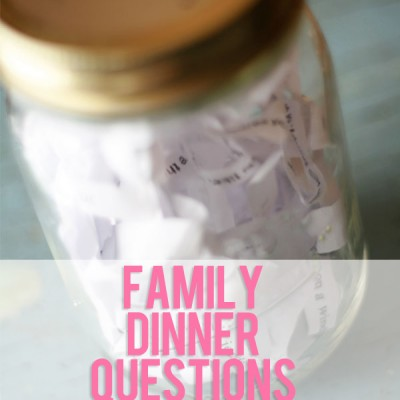 Family Dinner Questions #1