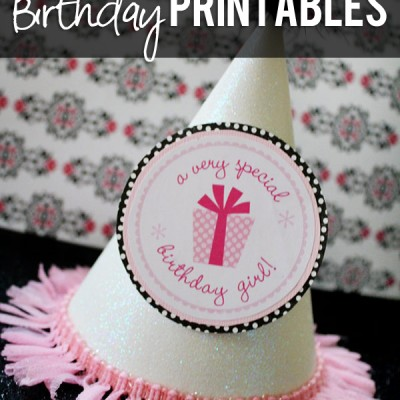 Free Birthday Printables!