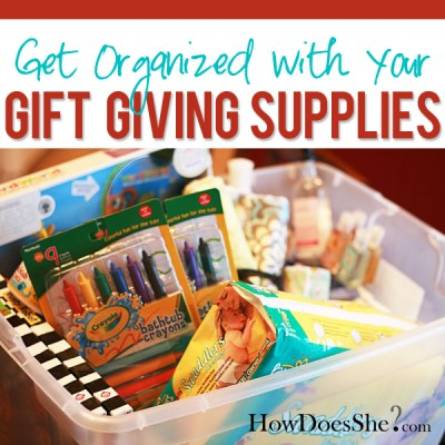 Gift Giving Organization
