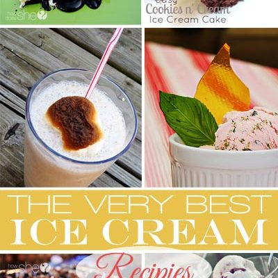 The BEST Ice Cream Recipes