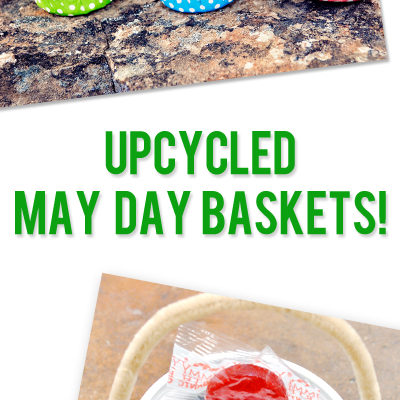 Upcycled Craft: May Day Baskets