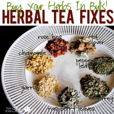 Hooray for Herbal Tea!!