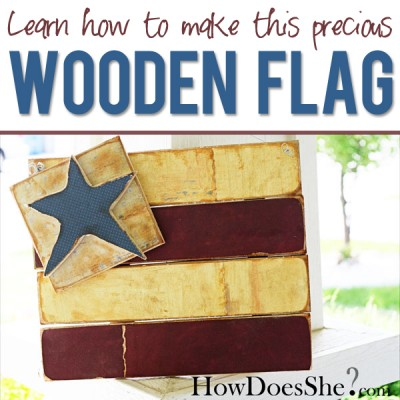 How to make a flag!