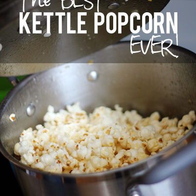 The BEST Kettle Popcorn EVER!