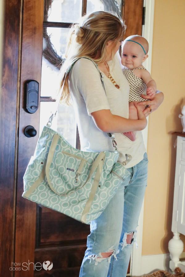 JJ Cole Diaper Bag (5)