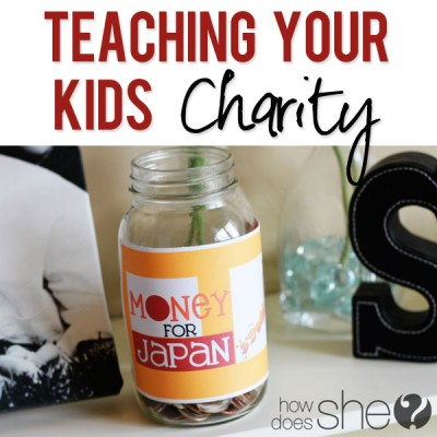 Japan: Teach your kids charity
