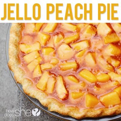 Jello Peach Pie