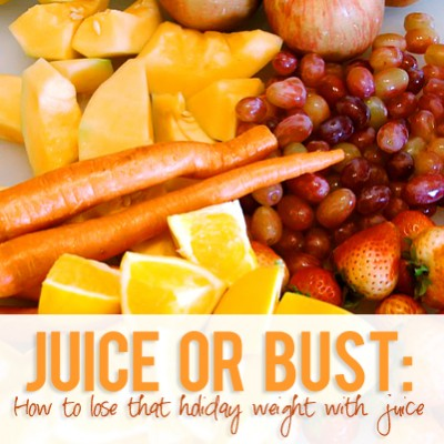 Juice or Bust: How to lose that holiday weight with juice