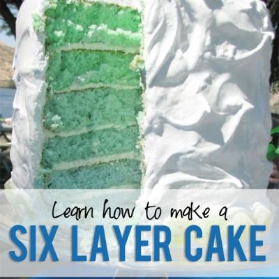 """My 6 Layer """"Cakerrific"""" Cake Tips!"""