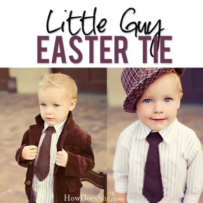 Little Guy Easter Tie