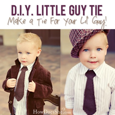 Oh so Cute 'lil Guy Tie
