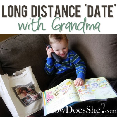 Long Distance 'Date' with Grandma