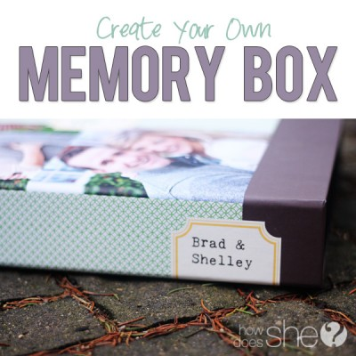 Our Memory Box – A Romantic Gift