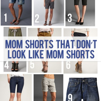 Mom Shorts that don't look like Mom Shorts