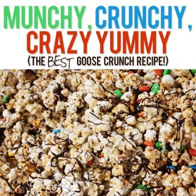 Munchy, Crunchy, Crazy Yummy